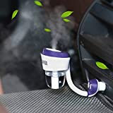 Rich N Royal Car USB Charger with Humidifier (Purple)