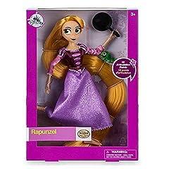 Idea Regalo - Disney Bambola classica Rapunzel: La Serie, Rapunzel Con mini personaggio di Pascal e padella