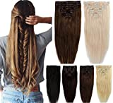 Best Full Hair Remy Hair Extensions - 22\ -80g , Medium Brown : 100% Real Review