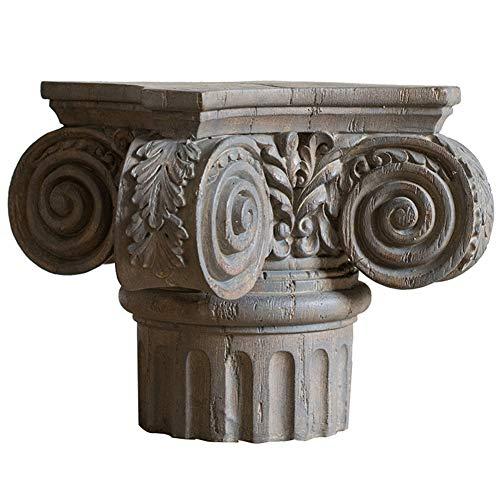 SDBRKYH Columna de jardín Pilar, Columna de Koslin Columna Romana Decoración Escultura