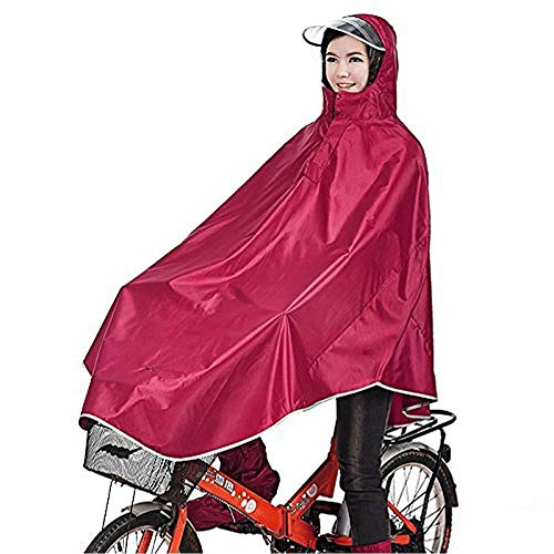 sorliva Windproof Hooded Cycling Bike Bicycle Raincoat Poncho 1 Pack