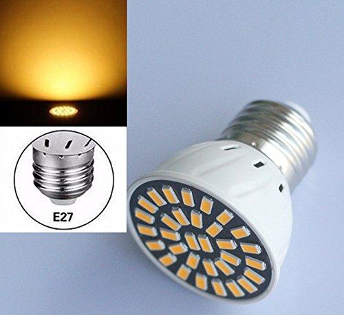 Preisvergleich Produktbild E27 LED 8W 5730 32 SMD Spot Strahler Glühbirne Lampe Leuchtmittel 230V Warmweiß