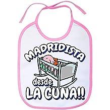 Babero Madridista desde la cuna Merengue Madrid fútbol
