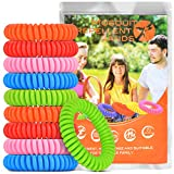 Victostar Mosquito Repellent Bracelet 10 PACK, All Natural Citronella DEET Free Insect Repellent