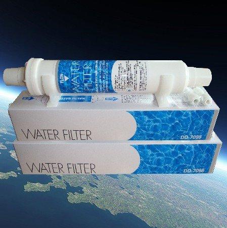 2 x filtros DD-7098 - Filtro de agua externo para frigorífico Daewoo / Bosch