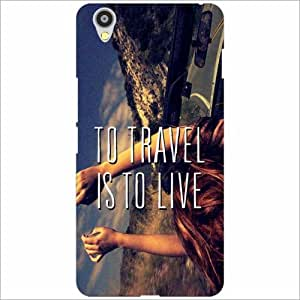 OnePlus X Back Cover - Travel To Live Designer Cases