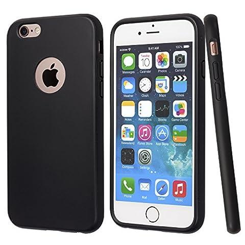iPhone 6S Plus Coque, totallee [le Doberman] slim noir en