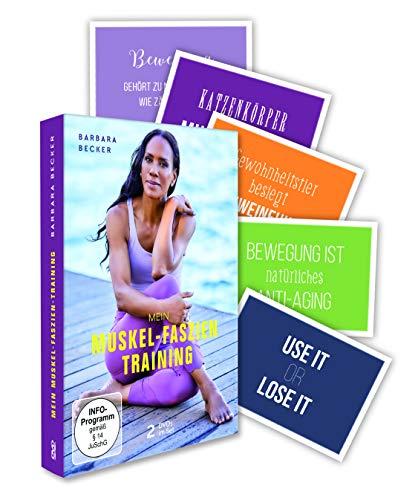 Barbara Becker - Mein Muskel Faszien Training - das Better Aging Programm - im 2er Set (exklusiv bei Amazon.de) [Limited Edition] [2 DVDs]