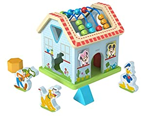 Be Imex TY050 MDF Ply Wood House Cube - Juego de Juguetes (21,2 x 18,5 x 21,2 cm)