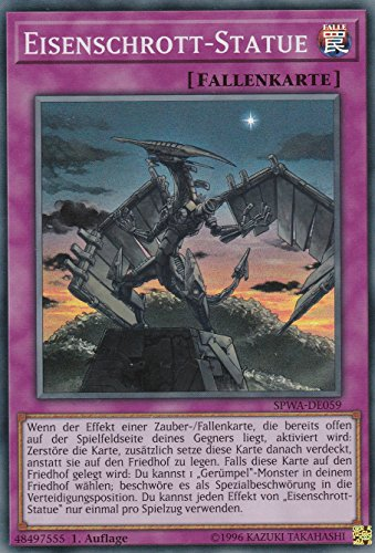 SPWA-DE059 - Eisenschrott-Statue - Super Rare - Yu-Gi-Oh - Deutsch - 1. Auflage - LMS Trading