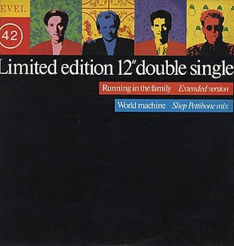 Running in the family (Ext.)/World machine (Shep Pettibone Remix) Limited