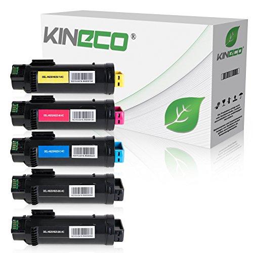 5-kineco-toner-kompatibel-zu-dell-h625-h825-cdw-h820-series-s2825-cdn-schwarz-3000-seiten-color-je-2