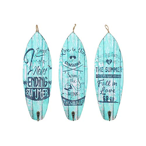 Vidal Regalos Adorno Decorativo Pared x3 Tablas Surf