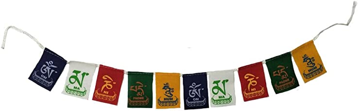 Aaradhi Divya Mantra Tibetian Buddhist Prayer Flags For Motorbike