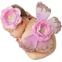 Happy cherry - Disfraces Apoyo Fotografía para Bebés Recién Nacidos Ropa Fotografo Bebés Animal Newborn Traje Fotos Bebés Photography Props - Mariposa