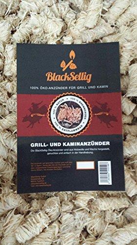 10 Kilo Blacksellig Ko Anznder Anzndwolle Grillanznder Ofenanznder Kaminanznder Aus Holzwolle Und Wachs