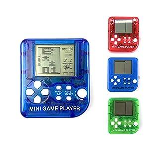 Lispeed Mini Arcade Machine Mini Handheld Spiel für Tetris Rennwagen Puzzle Spiel Kinder Spielzeug Handheld Spiele…