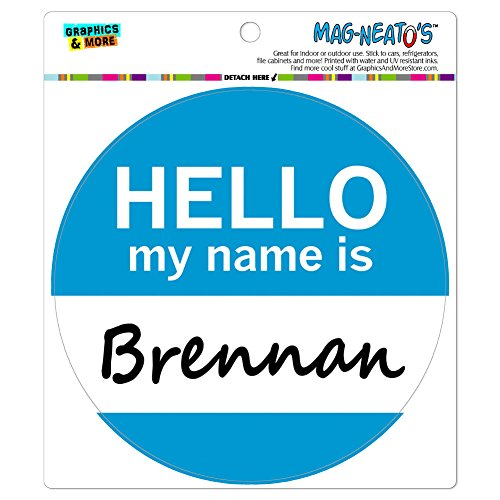 brennan-hello-my-name-is-mag-neatostm-automotive-car-refrigerator-locker-vinyl-magnet