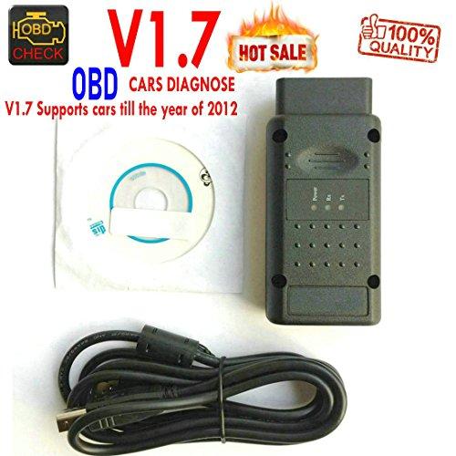 hr-tool ® Opel OPCOM OBDII Diagnose Tester Scanner v1.59in pic18F458- op-com Diagnose Canbus Interface OBD2OBD Code Reader für Opel