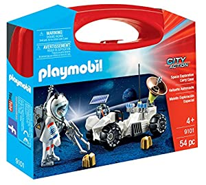 Playmobil-9101 Maletín Grande Exploración Espacial,, única (9101