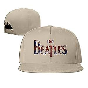 Hittings The Beatles Band Unisex Fashion Cool Adjustable Snapback Baseball Cap Hat One Size Natural