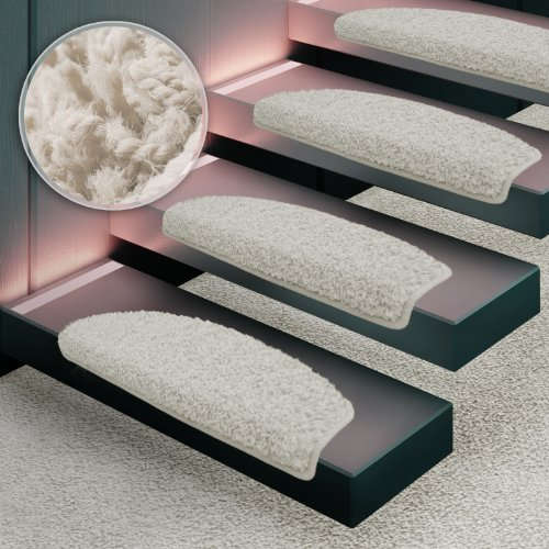 Shaggy Stufenmatten Premium S Line | Creme