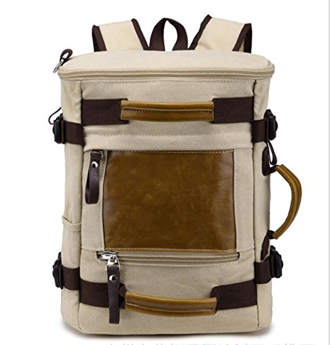 Xiuxiandianju 20L - 35L zaino zainetto borsa multifunzione spalla tracolla borse di tela , meters yellow meters yellow