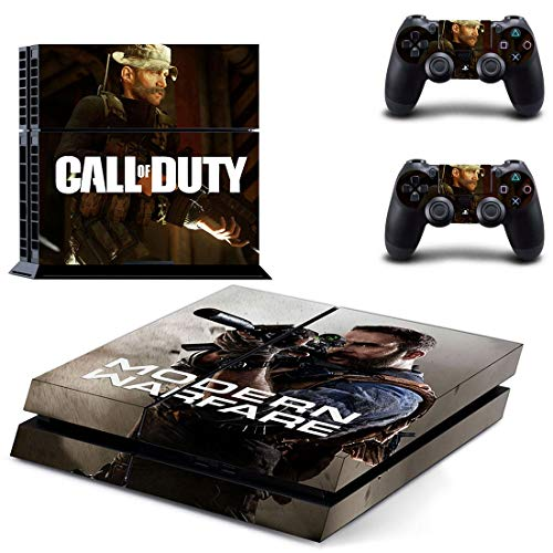 46 North Design Playstation 4 PS4 Folie Skin Sticker Konsole COD aus Vinyl-Folie Aufkleber Und 2 x Controller folie