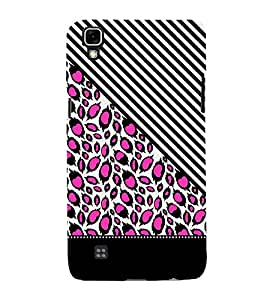 Pink Peacock Feathers 3D Hard Polycarbonate Designer Back Case Cover for LG X Power