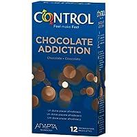 Control Chocolate Addiction Preservativos - Paquete de 12 preservativos aroma chocolate