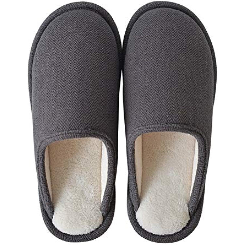 Coton Pantoufles Chaussons Maison Pantoufles Chaussures Anti-Slip Pantoufles Maison Int eacute;rieur Pantoufles,Couple De Chaussures d' - B07K69MF3V - fa7eec