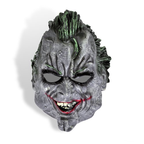 Batman Arkham City Joker Maske Für Erwachsene - Joker - Batman Arkham City Halb