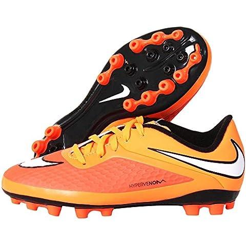 Botas Nike Hypervenom Phelon AG Junior -Naranja-