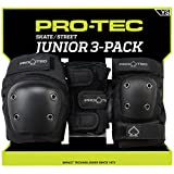 Pro-Tec Padset Street Gear Junior 3 Pack - Black-M