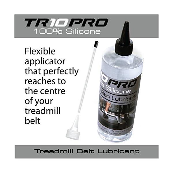 Il migliore Olio Lubrificante Silicone per Tapis Roulant TR10Pro 100% per Tapis Roulant Controllo Extra Lungo 500 ml… 2 spesavip