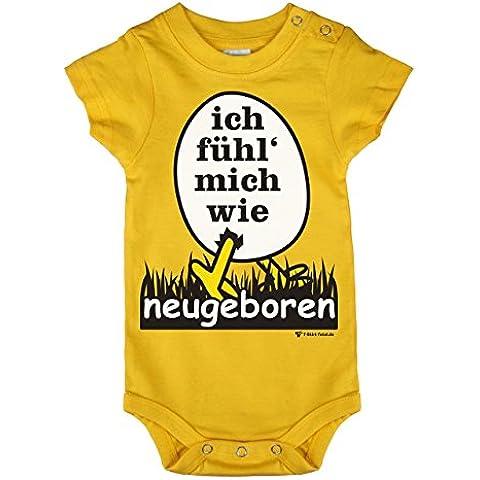 Baby Body–Body per bambino–Mi Fühl come neugeboren il Baby body il proprio ai primi mesi di vita si adatta–diverse misure un nascita regalo