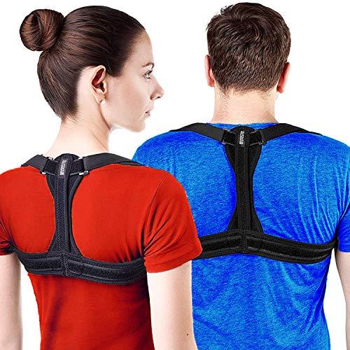 Modetro Sports Geradehalter zur Haltungskorrektur inkl. eBook für eine Gesunde Haltung, ideal zur Therapie für haltungsbedingte Nacken, Rücken und Schulterschmerzen Haltungskorrektur Damen