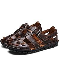 169a58198a87 Homme Sandale Fermée Chaussure d affaire Ajourée A Enfiler Respirante  Pêcheur Sandales Ouvert pour Marche