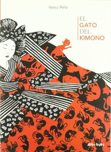 El gato del kimono por Nancy Peña
