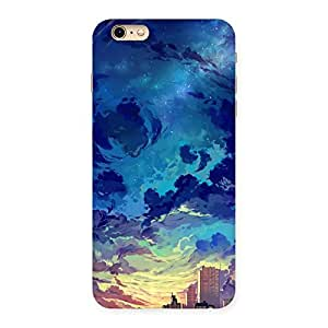Abstract Cloud Back Case Cover for iPhone 6 Plus 6S Plus