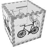 Azeeda 'Fahrrad' Klar Sparbüchse / Spardose (MB00013884)