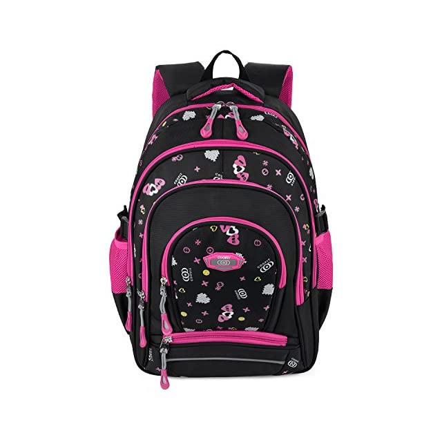 2c155f40d2fd64 ... Cartable fille, Coofit Design original Cartable fille primaire en  Oxford Sac ecole fille Sac a