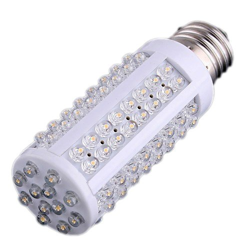 TOOGOO(R) AC 220-240V 108 LEDs E27 7W Warm Light LED Screw Corn Light Bulb Test