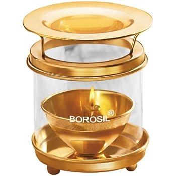 Borosil Large Brass Diffuser (Multicolour)