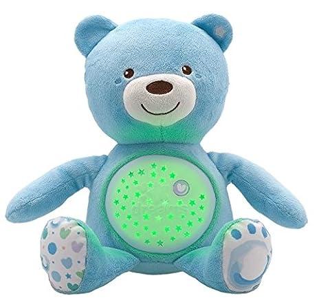 Chicco - 8015200000 - Ourson Projecteur Baby Bear - Bleu