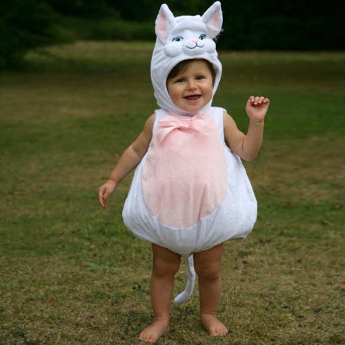 Baby Cat (Deluxe) - Infant & Toddler Costume 3 - 6 (Kostüm Kitty Hello Baby)