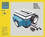 BOC-10252-BB Gepäck Anhänger Farbe Dark Azur Blau Zubehör für LEGO 10252 Käfer / Beetle