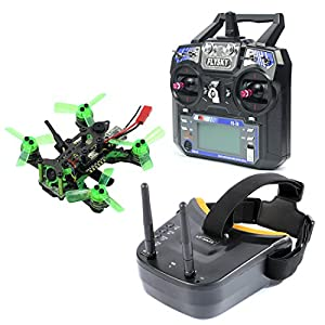 GEHOO GH Mantis85 RC FPV Micro Racing Drone Quadcopter RTF 600TVL Camera VTX & Double Antenna Mini Video Goggles from GEHOO GH