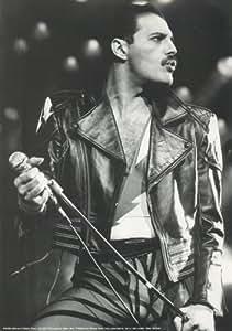 """Freddie Mercury Queen, Poster ca. Größe 11.7"""" x 16.5""""- 297mm x 420mm Poster"""