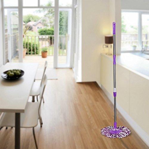 Ersatz für Floor Mop 360 No Foot Pedal Version Purple ()